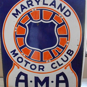 Maryland Motor Club AMA - Signs