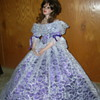 """Porcelain Doll-25"""" Tall on Stand"""