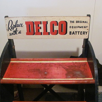 Delco Battery Rack found in garage attic - Tools and Hardware