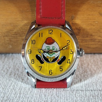 1970's Humpty Dumpty Character Watch - Wristwatches