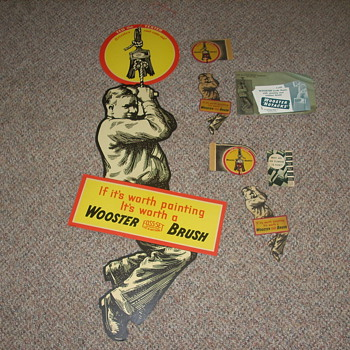 1930s Wooster Brush Co. Promotional Material