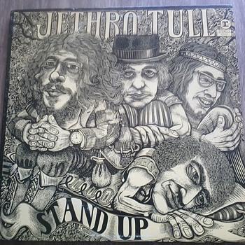 Jethro Tull 'Stand Up' - Records