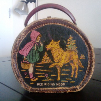 Little red riding hood lunch box