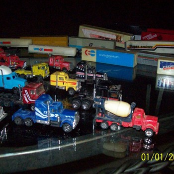 Die-cast Toy truck collection