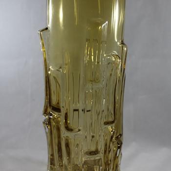 Bamboo Vase, Bo Borgstrom, Aseda Glasbruk - Art Glass