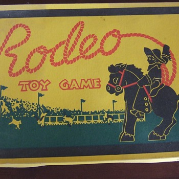 National Playthings Rodeo Toy Game