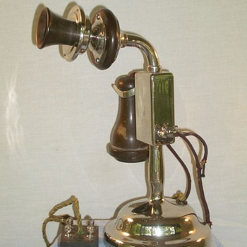 North Electric Early Candlestick - Telephones