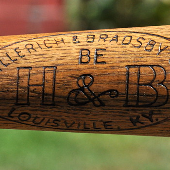 Hillarich &amp; Bradsby Co Baseball Bat - Baseball