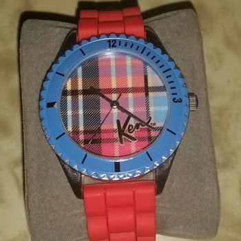 Plaid Ken Watch - Wristwatches
