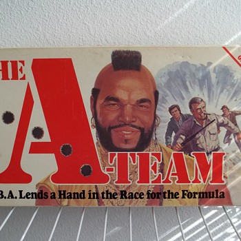 "1984 Parker Brothers ""The A-Team board game."" - Games"
