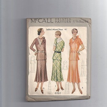 5194 McCall PRINTED PATTERN  - Sewing