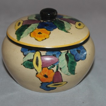Joseph Mrazek Covered Dish - Art Pottery