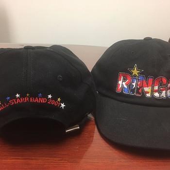Ringo's personally owned tour hat-2001 - Music Memorabilia