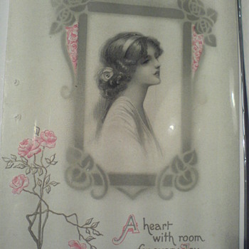 An old Birthday card of the early 1900... I found it in London...