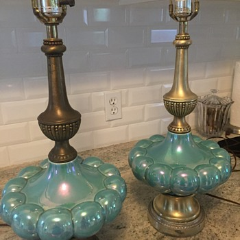 bronze lamps  - Lamps
