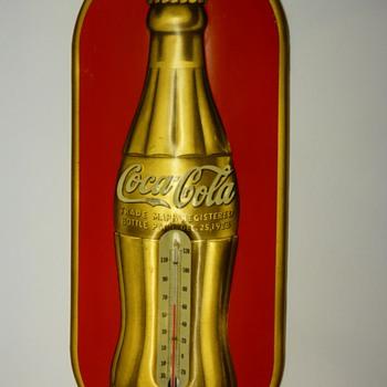 1938 Coca-Cola Thermometer