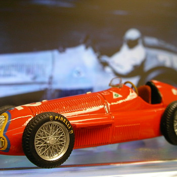 1951 Alfa Romeo 159A F1 Car - Model Cars