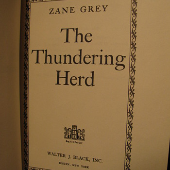 A 1953 Novel by Zane Grey