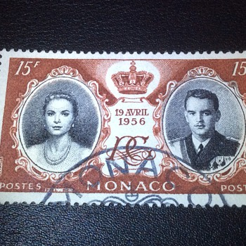 Monaco stamp - Stamps