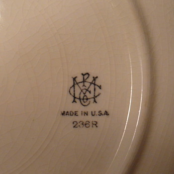Please help identify the manufacturer. - China and Dinnerware