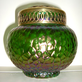 Kralik Martele Rose Bowl - Art Glass