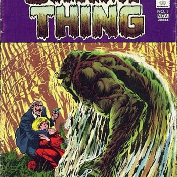The Swamp Thing! - Comic Books