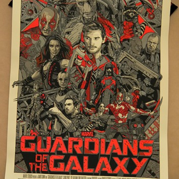 Guardians of the Galaxy, Variant, by Tyler Stout