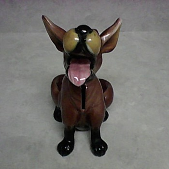 KREISS LAUGHING DOG BANK