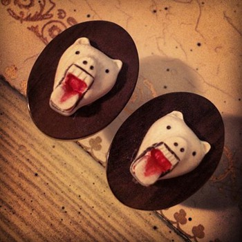 Set of Creepy Cufflinks - Accessories