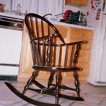 Nana's favorite rocking chair - Furniture