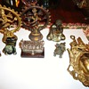 Lot of Assorted Eastern Religious Items: Buddha, Shiva, Ganesh and More. Manufacturer/Markings:  Gamelan Bali -limited edition