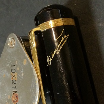 Help with Montblanc ID Please--Signed by? - Pens