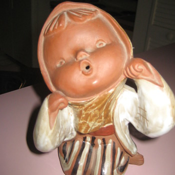 Japanese clay baby ? - Art Pottery