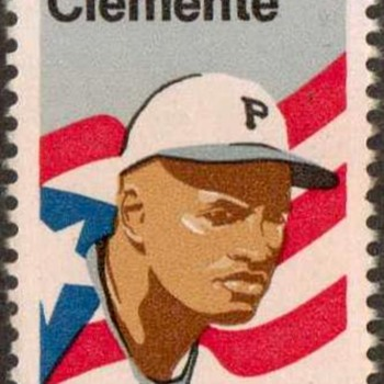 1984 - Roberto Clemente Postage Stamp (US) - Stamps