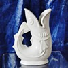 Original Shreve Crump & Low Gurgling White Cod Fish Pitcher