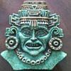 Turquoise Chip Face Plaque