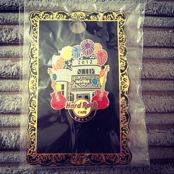 Limited Edition Hard Rock Cafe Grand Opening Pin