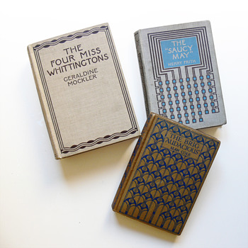 Book covers designed by Charles R. Mackintosh (Blackie & Son, Glasgow)