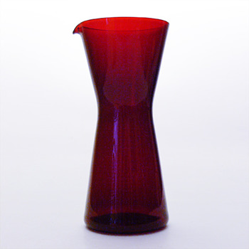 KARTIO jug, Kaj Franck (Nuutajrvi Notsj, 1950s) - Art Glass