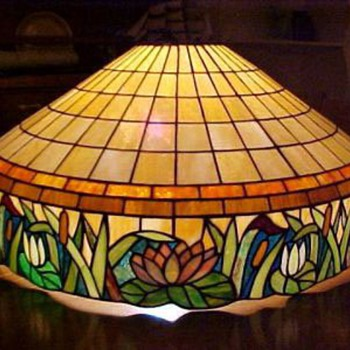 American Leaded glass Hanger - Lamps