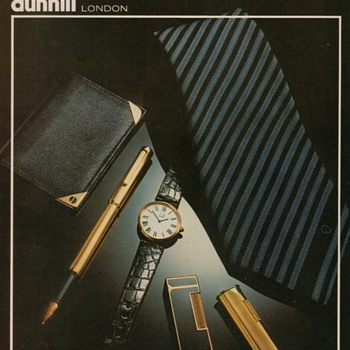 1978 Dunhill London Advertisement - Advertising