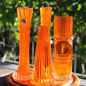More orange glass from Japan