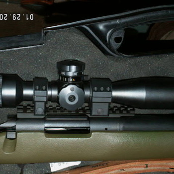 Vintage 10X Unertl U.S.M.C. Sniper Scope - Outdoor Sports