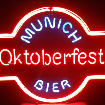 MUNICH OKTOBERFEST BIER Neon sign