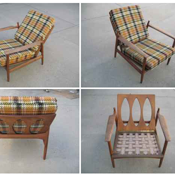 Does anyone have any information regarding this chair? Selig Manufacturing, missing some key coponenents for the back-rest. 