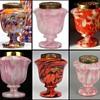 Rückl Jars Possible- Due To Tango Sklo Exhibit Pieces - In 3 Shapes.