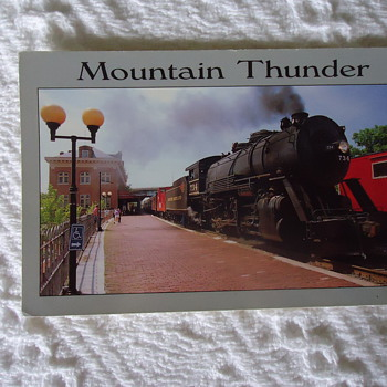 MOUNTIN THUNDER - Railroadiana