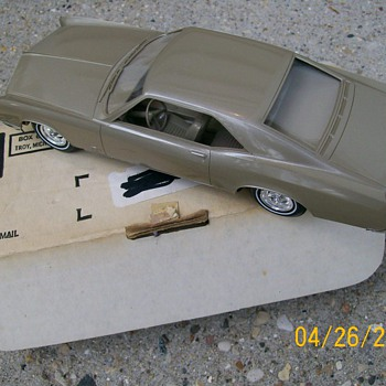 1966 Buick Riviera Promo Car in Original Shipping Box by AMT - Model Cars