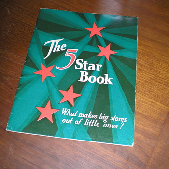 "1928 Coca-Cola ""The 5 Star Book"""