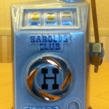 Harold's Club Vintage Decanter